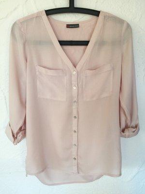 Leichte Bluse in rosé