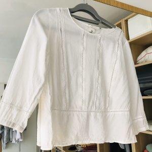 H&M Linnen blouse wit
