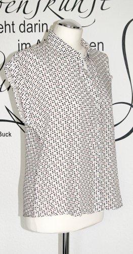 Leichte Bluse mit Muster (100% Viskose) - Neuwertig!