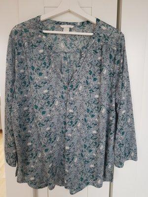 Leichte Bluse mit Muster