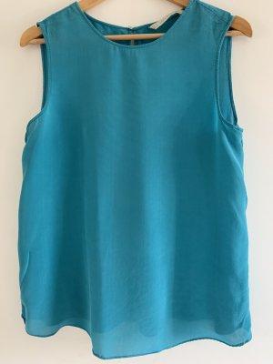 Leichte Bluse, Türkis von Zara