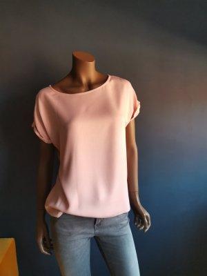 24Colours Camisa de mujer rosa empolvado Viscosa