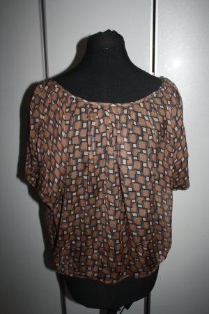 Leichte Bluse von Zara, braun, Gr, 38