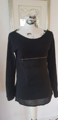 leichte Bluse von Zara, schwarz