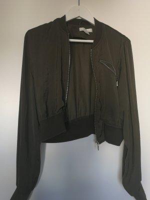 Vero Moda Blouse Jacket olive green-khaki