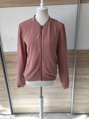 Only Bomber Jacket rose-gold-coloured-pink
