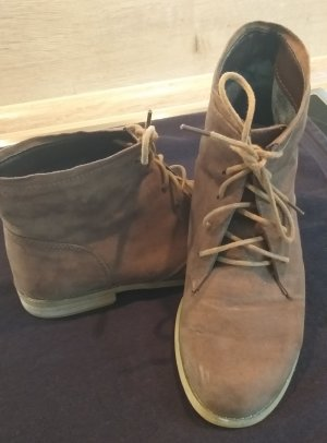 City Walk Lace-up Boots brown