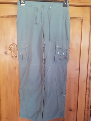 Pantalon cargo kaki polyester