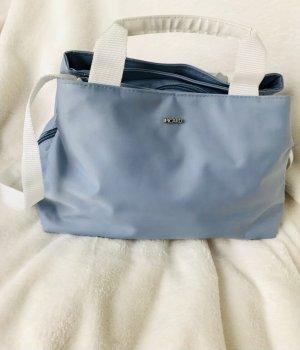 Leichte Damen Handtasche Picard vegan lederfrei babyblue helblau Stoff