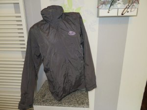 Double Speed Raincoat anthracite polyamide