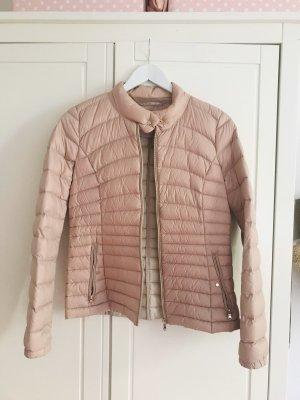 Leichte Daunen Jacke rosa