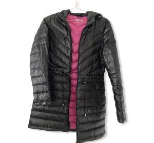 DKNY Doudoune noir-rose