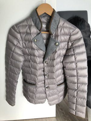 White Label Down Jacket grey brown-silver-colored