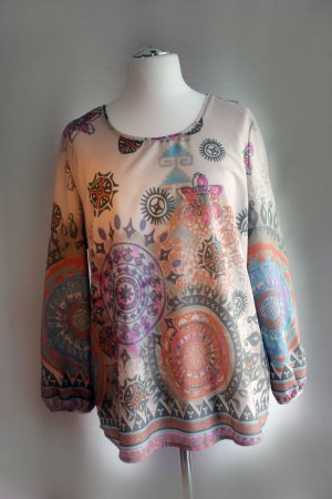 BC Tunic Blouse multicolored polyester