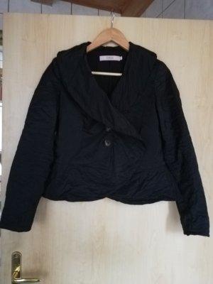 0039 Italy Marynarka koszulowa czarny