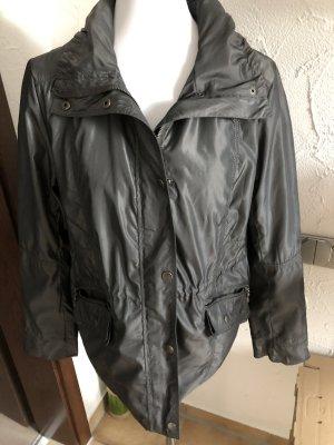 leichte graue Jacke / Regenjacke / Übergangsjacke von Ambria - Gr. 38