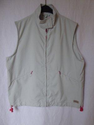 Zabaione Vest light grey polyester