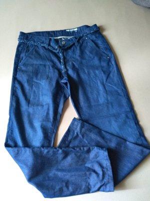Leichte Hose in Jeansoptik