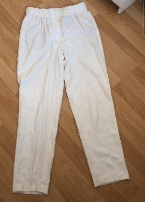 Massimo Dutti Pantalone jersey bianco