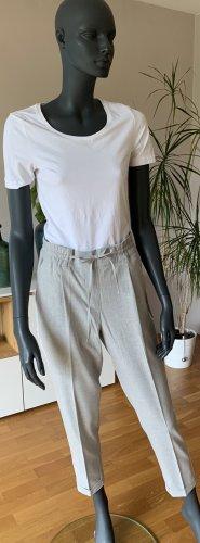 Opus 7/8 Length Trousers light grey-white