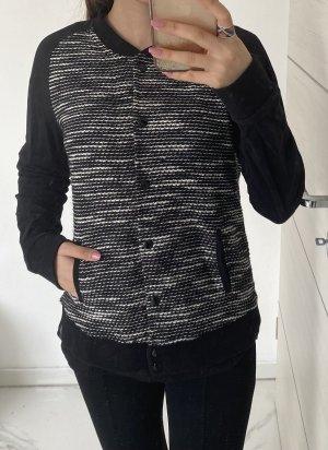 G.W. College Jacket black-white