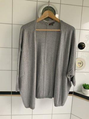 Street One Chaqueta estilo camisa gris Algodón