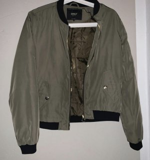 Only Giacca bomber nero-cachi