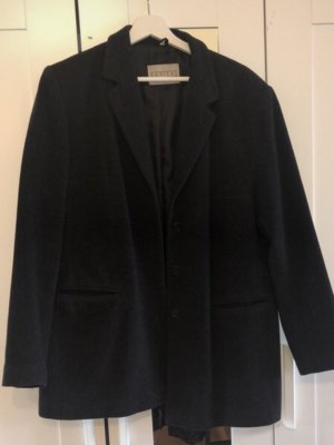 Barisal Veste en laine noir
