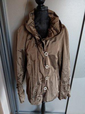 Leichte Jacke braun glänzend easy comfort