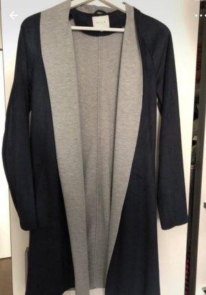 Leichte Jacke Cardigan blau grau