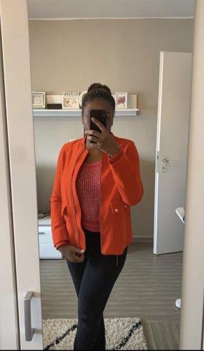 H&M Kurtka przejściowa pomarańczowy neonowy