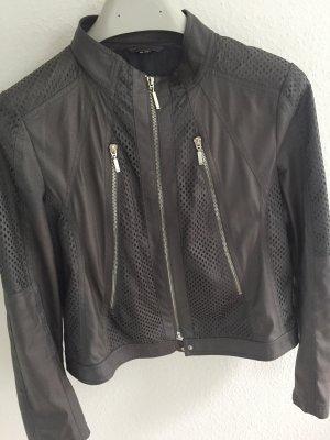 Gerry Weber Biker Jacket grey brown