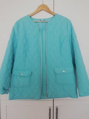 Veste chemisier bleu clair polyester