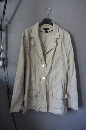 Leichte Jacke, H&M, mit Taschen, Leinen, Parka, Leinenjacke, Blazer, Leinenblazer