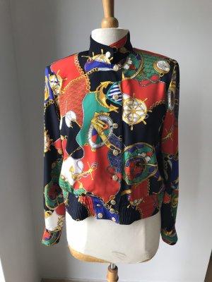 Leichte Jacke im Marine Stil  Gr 38 Vintage