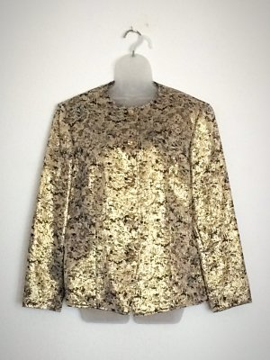 Markwald Blouson gold-colored-black polyester