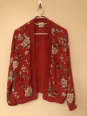Leichte Jacke mit Blumenprint