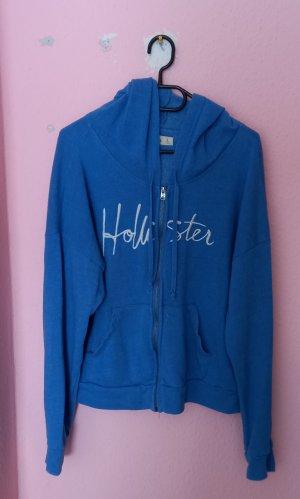 Holister Hoody white-cornflower blue