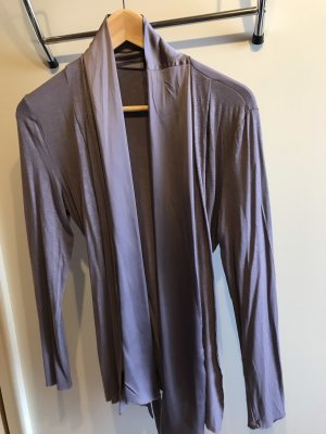 s.Oliver Selection Chaqueta estilo camisa violeta grisáceo