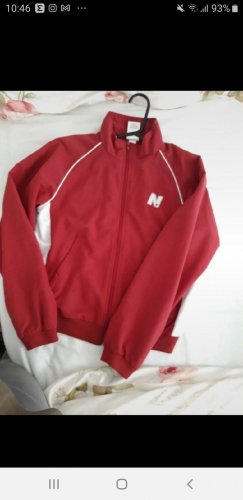 New Balance Sports Jacket dark red