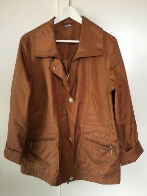 Leichte Jacke rostfarben Gr. 44 von Fair Lady