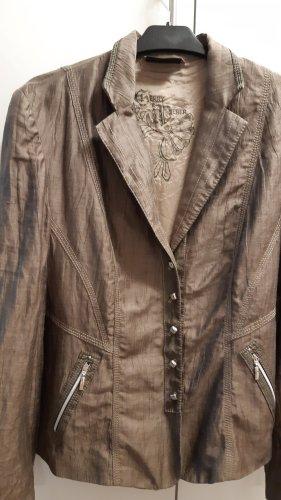 Gerry Weber Klassischer Blazer beige modal fibre