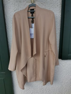 Access Long Jacket beige acetate