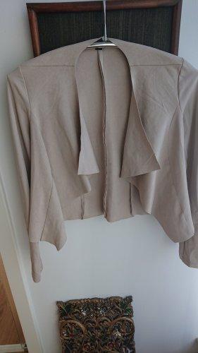 Leichte Jacke von Comma, Gr. 36, hellbeige