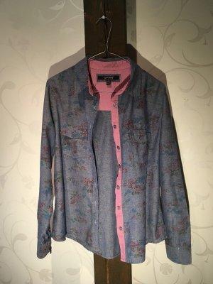 Denim Shirt multicolored cotton