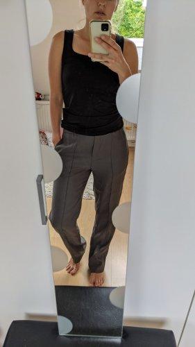 Massimo Dutti Jersey Pants dark grey