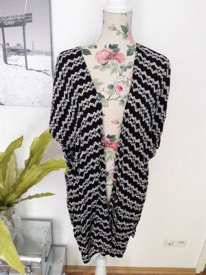 Kimono black-oatmeal