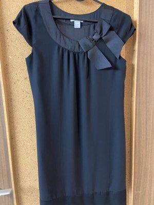 H&M Basic Sukienka bez ramiączek czarny