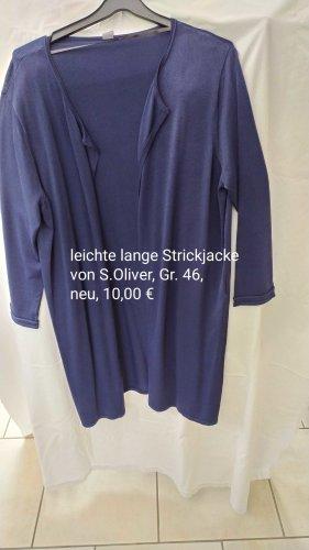 leichte lange Strickjacke, Gr. 46 von S. Oliver