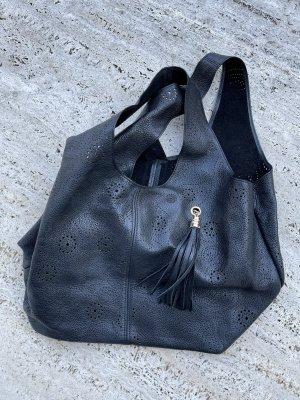 leichte Leder-Handtasche